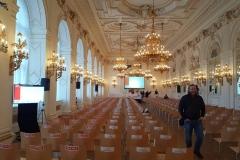 Konec_instalace_konference_Prazsky_hrad_-_A-TechService